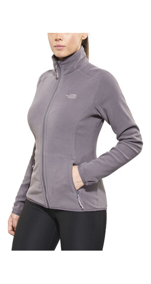 The North Face 100 Glacier Full Zip Women Rabbit Grey